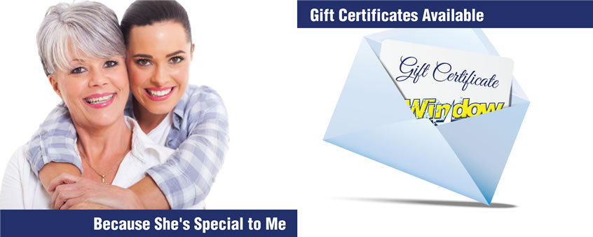Gift Certificates Window Cleaning